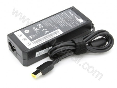 Lenovo 20V 4.5A 90W Rectangular with Pin Replacement Laptop AC Adapter