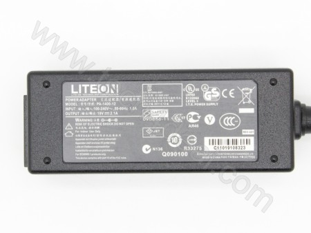 Acer 19V 2.1A 40W 5.5*3.0mm with Pin LiteOn AC Adapter