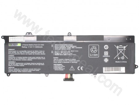 ASUS X202e 7.4V 5000mAh Replacement Laptop Battery