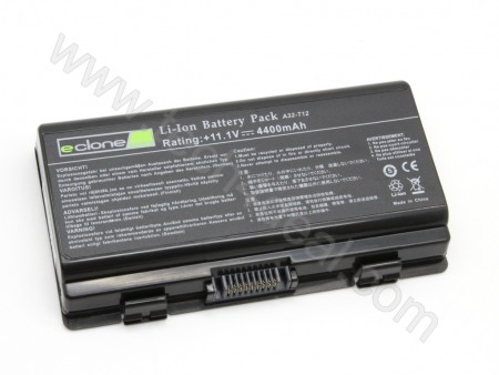 ASUS X51 / T12 11.1V 4400mAh 6-Cell Replacement Laptop Battery