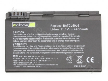 Travelmate BATCL50L 11.1V 4400mAh 6-Cell Replacement Laptop Battery
