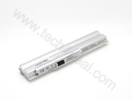 SONY BPS20 10.8V 4400mah 6-Cell Silver Replacement Laptop Battery