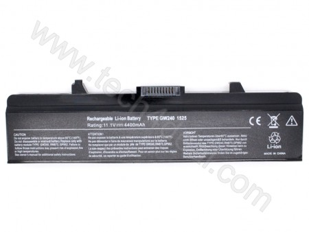 DELL Inspiron 1524 1525 1526 1545 1546 1750 1440 6-Cell 11.1V 4400mAh Replacement Laptop Battery