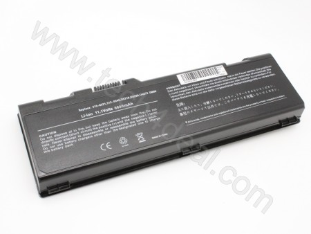 DELL Inspiron 6000 9200 9300 9400 E1705 9-Cell 11.1V 6600mAh Replacement Laptop Battery