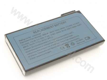DELL Latitude CPI C600 C800 Series 8-Cell 14.8V 4400mAh Replacement Laptop Battery