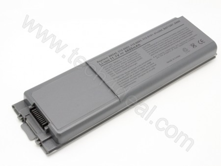DELL Latitude D800 Inspiron 8500 8600 Precision M60 9-Cell 11.1V 6600mAh Replacement Laptop Battery