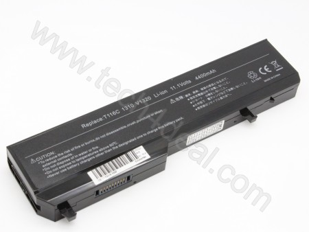 DELL Vostro 1310 1320 1510 1520 2510 XPS M1310 M1510 6-Cell 11.1V 4400mAh Replacement Laptop Battery