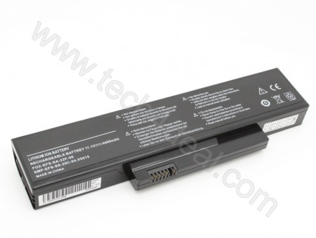 Fujitsu Amilo Pro V5515 V5535 V5555 V6515 6-Cell 11.1V 4400mAh Replacement Laptop Battery