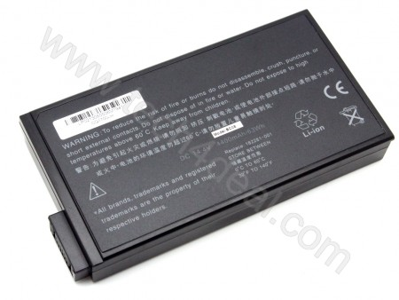 HP COMPAQ 1700 14.4V 4400mAh 8-Cell Replacement Laptop Battery
