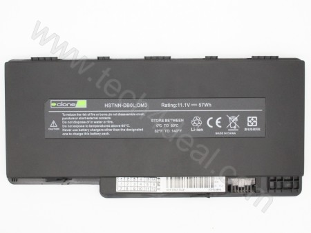 HP DM3 11.1V 57Wh 6-Cell Replacement Laptop Battery