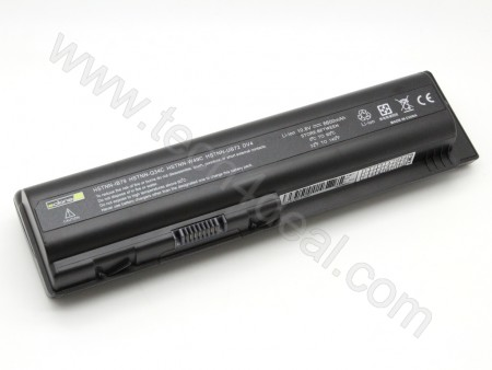 HP DV5 10.8V 6600mAh 9-Cell Replacement Laptop Battery