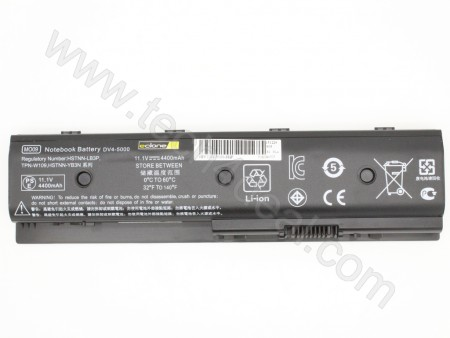 HP M6 11.1V 4400mAh 6-Cell Replacement Laptop Battery