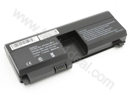 HP Pavilion tx1000 tx2000 Series 6-Cell 7.4V 6600mAh Replacement Laptop Battery