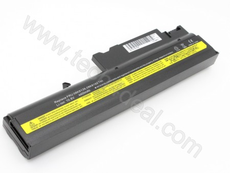 Lenovo T40 T41 T42 T43 R50 6-Cell 10.8V 4400mAh Replacement Laptop Battery