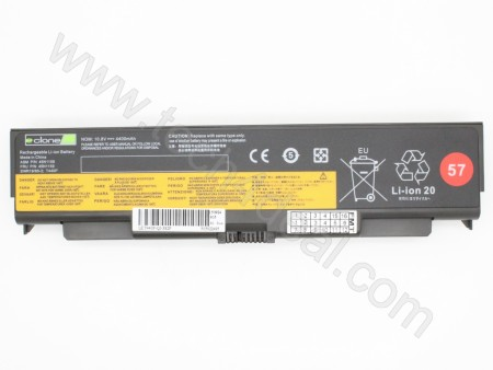 Lenovo ThinkPad T440P 10.8V 4400mAh 6-Cell Replacement Laptop Battery