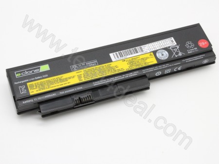 Lenovo ThinkPad X220s 11.1V 4400mAh 6-Cell Replacement Laptop Battery