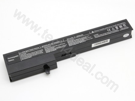 Clevo M720 14.8V 2600mAh 6-Cell Replacement Laptop Battery