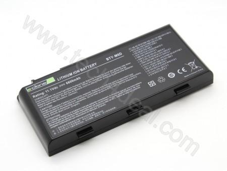 MSI BTY-M6D Gt780r Gt663r Gt660r 11.1V 6600mah  Replacement Laptop Battery