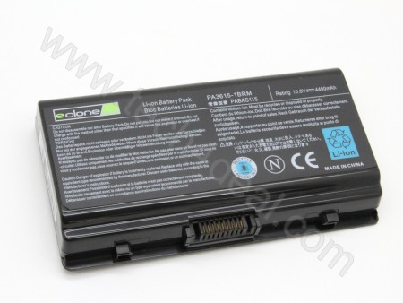 TOSHIBA PA3615U L45 10.8V 4400mAh 6-Cell Replacement Laptop Battery