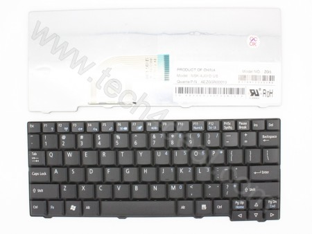 Acer Aspire ONE A110 A150 Black Keyboard