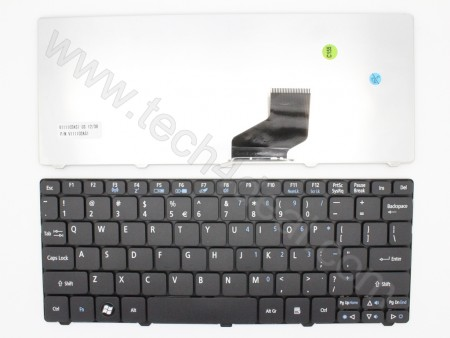 Acer Aspire ONE 721 532H Black Keyboard