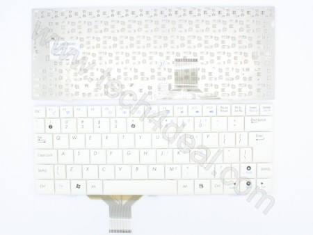 ASUS Eee PC1000 White Keyboard