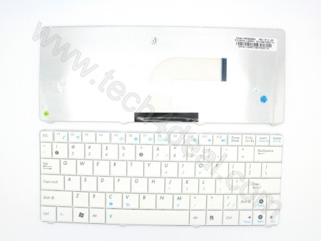ASUS Mini N10 PC-1101 White Keyboard