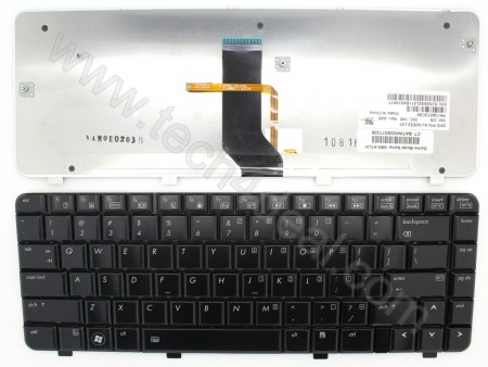 HP / Compaq Pavilion DV3-2000 Back-Lit Black Keyboard