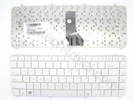 HP Pavilion DV5 White Keyboard