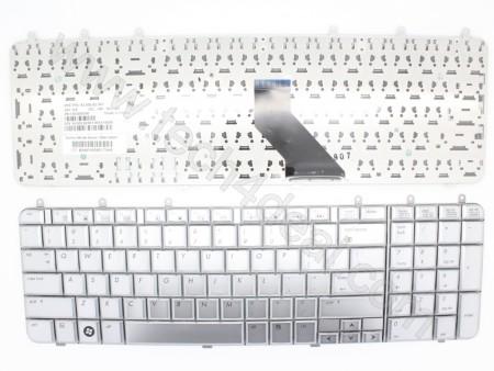 HP Pavilion DV7 Silver Keyboard