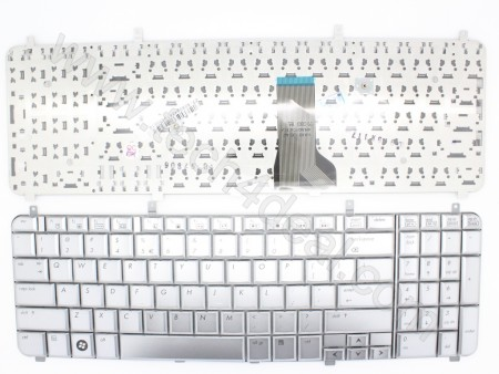 HP HDX16 Silver Keyboard