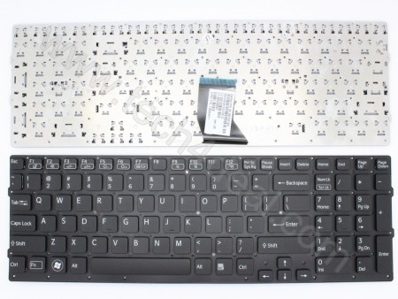 SONY VPC-CB Black Keyboard