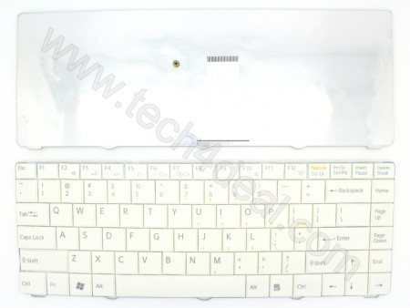 SONY NR Series White Keyboard