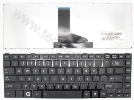 TOSHIBA L800 Black Keyboard