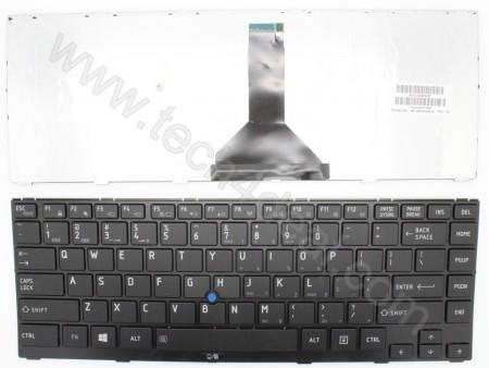 Toshiba R850 Black  Frame Keyboard