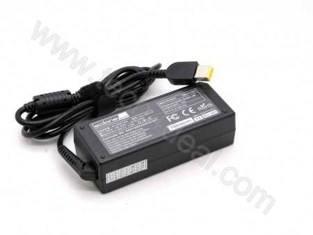 Lenovo 20V 2.25A 45W Rectangular with Pin Replacement AC Adapter
