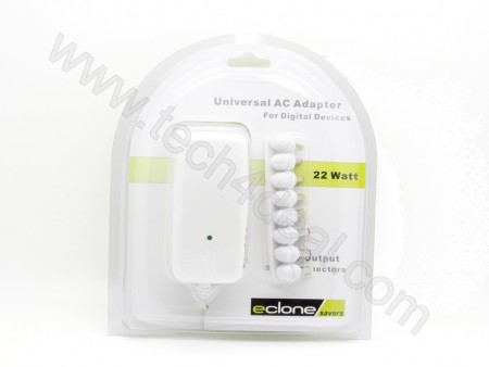 Universal   22W  eclone Savers AC Adapter
