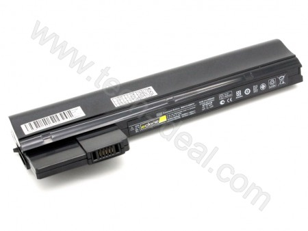 HP Mini 210-2000 210-2100 210-2200 6-Cell 10.8V 4400mAh Replacement Laptop Battery - Balck