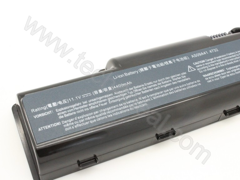 Acer Aspire 4732z AS09A41 111V 4400mAh 6 Cell Replacement Laptop Battery